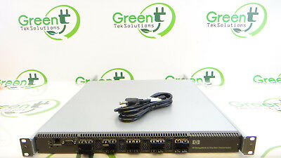 HP 465714-001 StorageWorks 8/20Q Fibre Channel Switch 8GB  16-Active Port