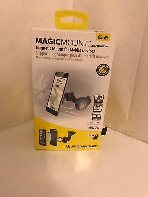 Scosche Magnetic MagicMount Dash/Window - Mobile Devices - FREE SHIPPING