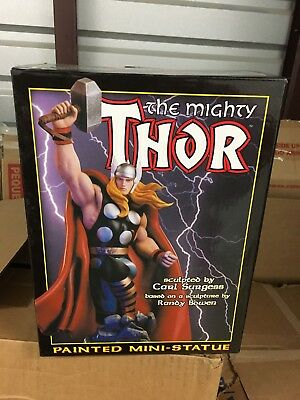 #5156/5500 Bowen THE MIGHTY THOR mini statue With Box and styrofoam