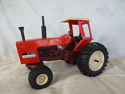 ERTL 1/16 ALLIS CHALMERS 7080 MAROON BELLY with CANOPY FARM TOY TRACTOR RARE!!