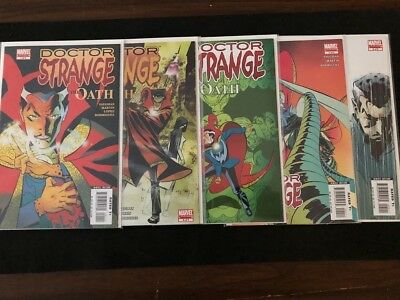 Doctor Strange:The Oath #1 - 5 Limited Complete series run (2006) Brian K Vaughn