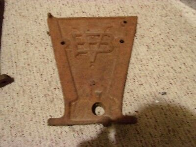 Antique Farm Ranch VAN BRUNT Corn Wheat Grain Planter End