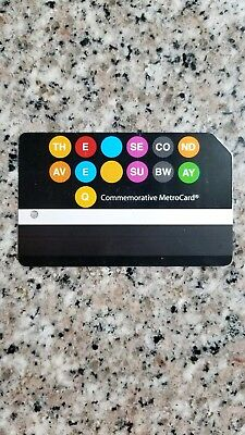 NYC MTA 2nd Avenue Subway Metrocard - Transit Collectible - Second Ave MetroCard