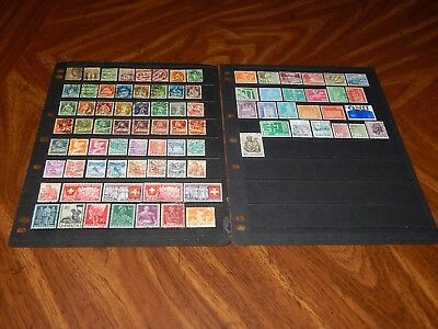 Switzerland stamps for sale - BIG lot of 85 used stamps - super !!