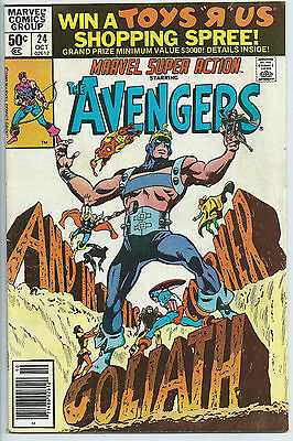 MARVEL SUPER ACTION (1977 Series) #24 NEWSSTAND edition  Comic Book