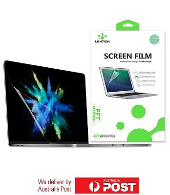 """LENTION Clear Screen Protector for MacBook Pro 13"""" and 15"""" 2016-2018 Models"""