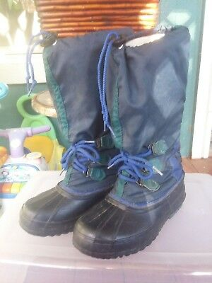 really cheap new arrival the best attitude VTG SOREL FREESTYLE Tall Snow Boots Womens 6 Winter Rubber ...