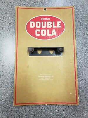 ORIGINAL Double Cola Cardboard Calender Holder