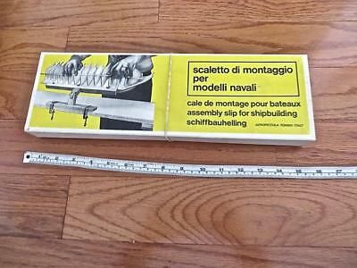 Scarce all Wood MODEL SHIP BUILDING VISE by AEROPICCOLA Boxed
