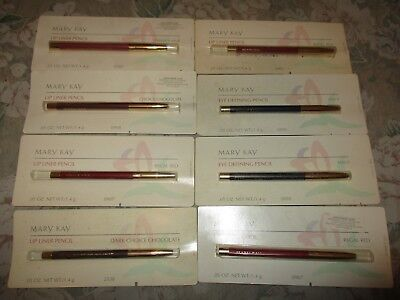 Vintage Mary Kay beauty products - eye-defining pencil, lip-liner pencil