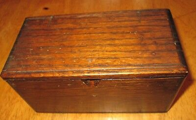 Vintage Wood Sewing Machine Puzzle Box 1889 With Attachments And Parts