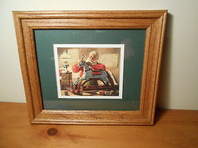 Santa Picture Vintage Home Interiors