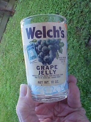 1974 Warner Bros.Welch's Looney Tunes Jelly Glass with Label