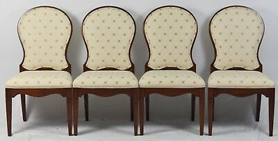 Set of 4 of Harden Cherry Upholstered Dining Room Chairs
