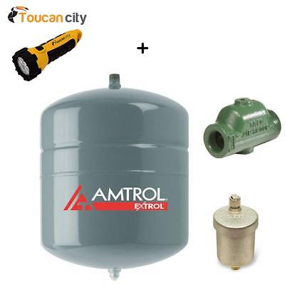 Toucan City LED flashlight and Amtrol EX-30 Expansion Tank Air Scoop Kit EX-3...