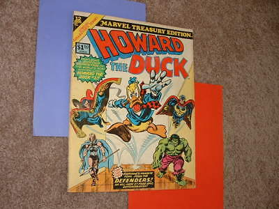 1976 Howard the Duck 12 Defenders Marvel Treasury Edition Nice VG+ Free Shipping