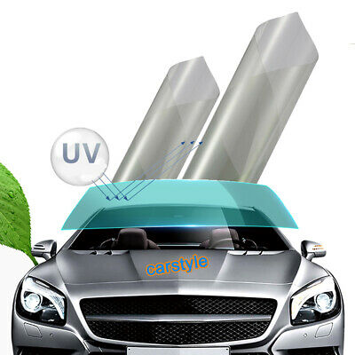 Transparent Auto Side Window Solar Film Tint 1.5Mx76CM UV Explosion-proof Film