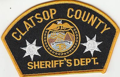 Clatsop County Sheriff's Department Oregon Or Police Patch