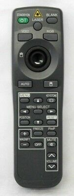 Original Hitachi HL01771 LCD Projector Mouse Remote Control w/ Laser Pointer
