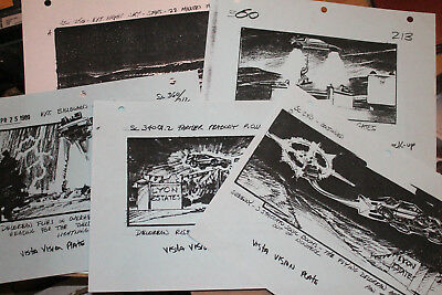 Back to the Future Part 2 Storyboard Set Original Production Used