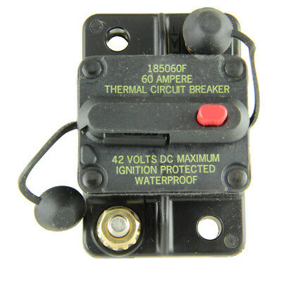 Bussmann CB185-60 Surface-Mount Circuit Breakers, 60 Amps (1 per pack)