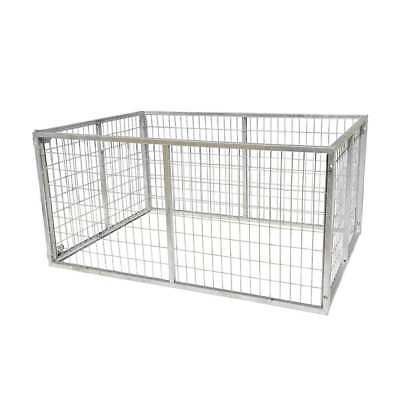 Galvanised Trailer Cage For 7X4 Trailer, 900Mm High