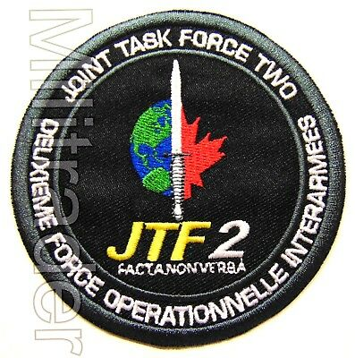 Canada Canadian Joint Task Force 2 Patch (JTF2 Special Forces)