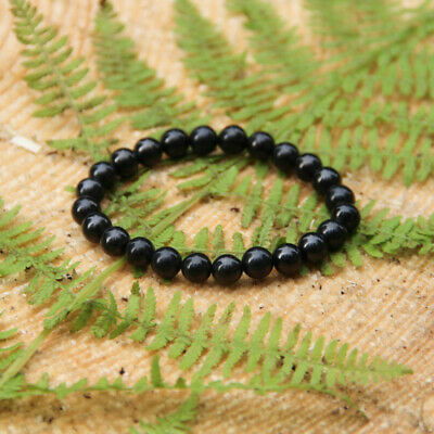 Authentic Shungite Bracelet Handmade Jewelry for EMF Protection and Root Chakra