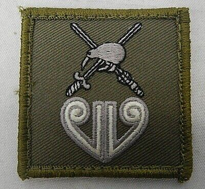 Platatac New Zealand Divisional patch - velcro backed