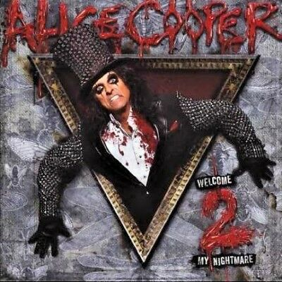 Alice Cooper - Welcome 2 My Nightmare.. Cd..new / Unsealed   *485