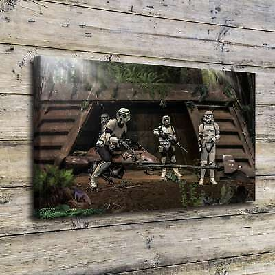 "Endor Stormtrooper Picture 16""x28"" Home Decor HD Canvas prints Wall art Painting"