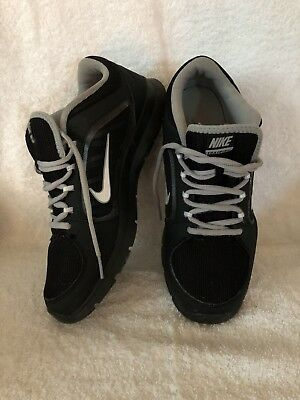 08f7a911456b Nike Flex Trainer 4 Women s Black White Athletic Shoes Size 9.5 (643083-001