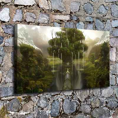 """16""""x28"""" Fantasy Nature Trees Picture Home Decor HD Canvas prints art Painting"""