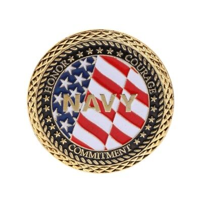 American Navy Military Veteran Commemorative Coin Souvenir Collection Arts Gift