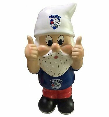 Western Bulldogs Official AFL Thumbs Up Garden Gnome Gift Box 30cm