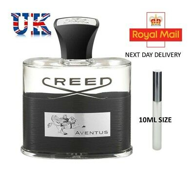 Creed Aventus Edp - 10Ml Atomiser - Decant- Next Day Delivery