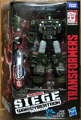 Hasbro Transformers SIEGE War for Cybertron Trilogy Deluxe Class Hound WFC-S9
