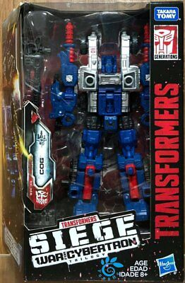 Hasbro Transformers SIEGE War for Cybertron Trilogy Deluxe Class Cog WFC-S8