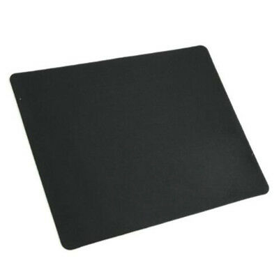 Big Useful Black Ultra-thin Square Mouse Pad Mat Rubber Mat School Supplies GA