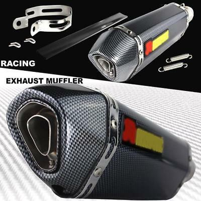 Universal Exhaust Muffler Pipe for Motorcycle ATV Silencer with DB Killer UKOC#