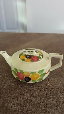 Ridgways Hand Painted.bedford Ware California 6962 Tea Pot