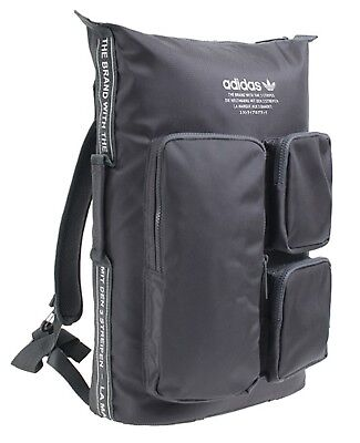 fd35b22d2f Adidas NMD Backpack Bags Sports Gray Unisex Running School Casual GYM Bag  CE2391