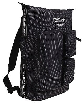 8a9ec9c3ad61 Adidas NMD Backpack Bags Sports Black Unisex Running School Casual Bag  CE5616