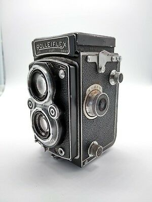 Automatic Rolleiflex Type 4 - Good Working Condition Complete With Case & Strap