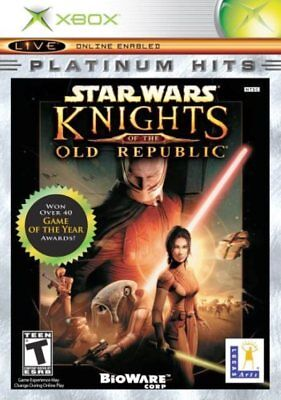 Star Wars: Knights of the Old Republic (Xbox USA) New in Shrink Wrap, Not Y-Fold