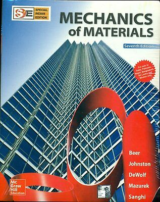BRAND NEW: Mechanics of Materials by Beer 7th INTL ED