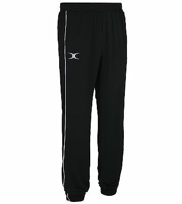 Clearance Brand New Gilbert Rugby Verve Tracksuit Trousers Black 9-10 Years