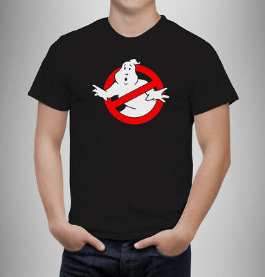 Ghostbusters Logo Tshirt 80's Classic Retro Funny Comedy kids adults  T-Shirt