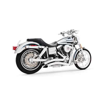 Echappement Freedom Performance Sharp curve radius chrome Dyna 91-05