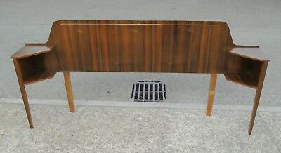 Vintage Retro Headboard / Bedside Tables     Delivery Available